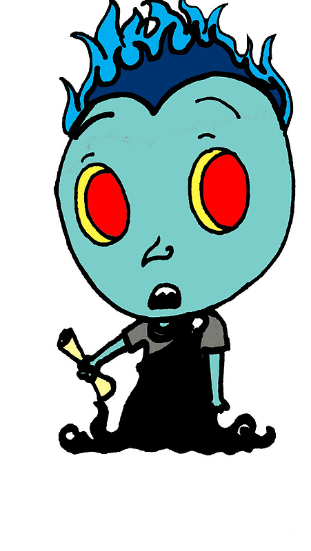 Tiny Hades by LabryinthAbsurd