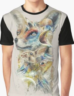 Heroes of Lylat Starfox Inspired Classy Geek Painting Graphic T-Shirt