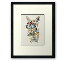 Heroes of Lylat Starfox Inspired Classy Geek Painting Framed Print