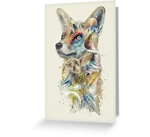 Heroes of Lylat Starfox Inspired Classy Geek Painting Greeting Card