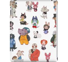 Nonary Game: Animal Crossing Edition (Large/X-Large Sticker Sheet) iPad Case/Skin