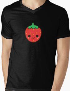 Cute strawberry Mens V-Neck T-Shirt