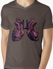 Time Lord Anatomy Mens V-Neck T-Shirt