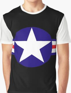 Aviation - US Army - Cool Star Graphic T-Shirt