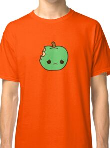Cute sad apple Classic T-Shirt