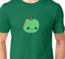 Cute sad apple Unisex T-Shirt
