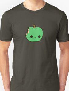 Cute sad apple Unisex T-Shirt