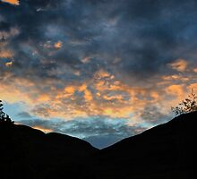 Summer Sunset After Stormy Day by evisonphoto