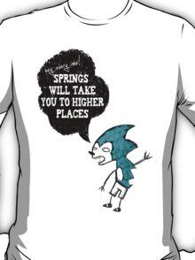 Spring Wisdom Hedgehog T-Shirt