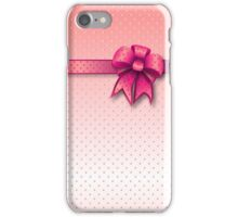Case Pink Bow iPhone Case/Skin