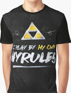 I Play By My Own Hyrules Graphic T-Shirt