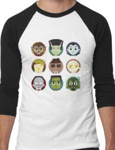 Little Monsters Men's Baseball ¾ T-Shirt