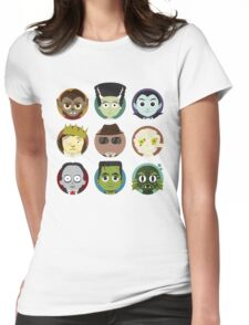 Little Monsters Womens Fitted T-Shirt