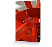San Francisco Calder Greeting Card