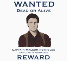 Wanted-Dead or Alive by Sakena