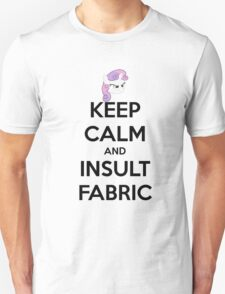 KEEP CLAM AND INSULT FABRIC T-Shirt