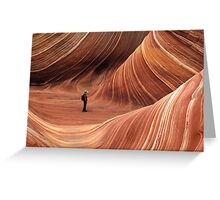 The Wave Seeking Enlightenment Greeting Card