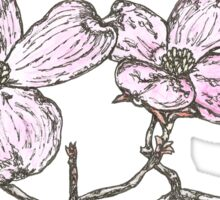 Flowering Dogwood Sticker