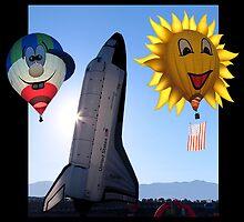 Morning Launch Albuquerque Balloon Fiesta by Vivian Christopher