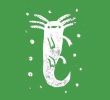 Axolotl Print Kids Clothes