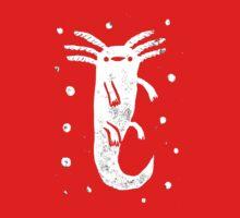 Axolotl Print Baby Tee