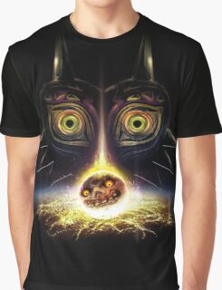 Legend of Zelda Majora's Mask Operation Moon Fall Graphic T-Shirt