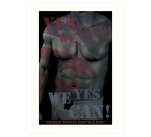 17619 Yes We Can! Art Print