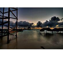 Cuba at dawn Photographic Print