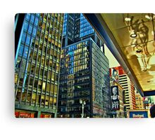 The Colors of Broadway Canvas Print