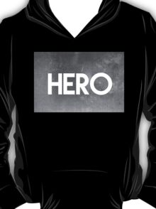 HERO WHITE ON DARK T-Shirt