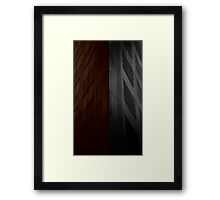 Building Edge Framed Print