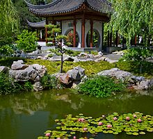Chinese Pagoda by jswolfphoto