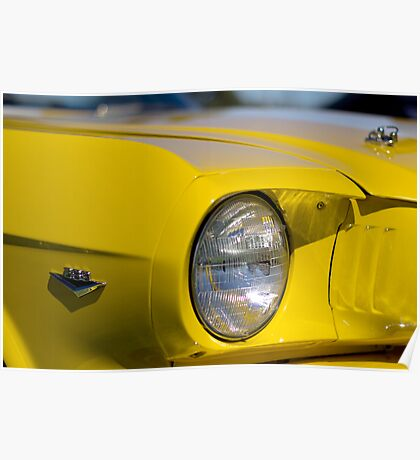 Yellow Mustang - Light up 289 Poster