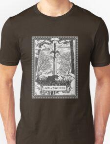 Vintage Legend of Zelda Master Sword Tarot Unisex T-Shirt