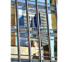 A Dr. Seuss Building Reflection, NYC Photographic Print