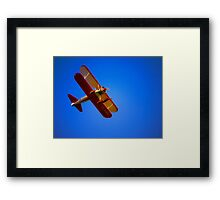 Woman on the Wing Framed Print