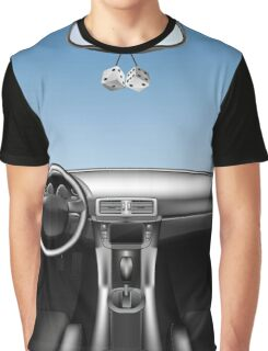Car Auto Dashboard Graphic T-Shirt