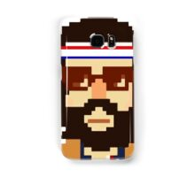 First Hipster - Awesome 8 bit design Samsung Galaxy Case/Skin