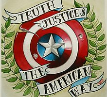 Truth & Justice by Alivia Marie