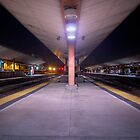 Los Angeles Train by jswolfphoto