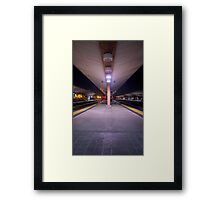 Los Angeles Train Framed Print