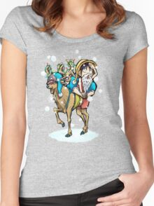 A One Piece Holiday Women's Fitted Scoop T-Shirt