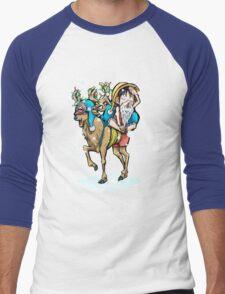 A One Piece Holiday Men's Baseball ¾ T-Shirt