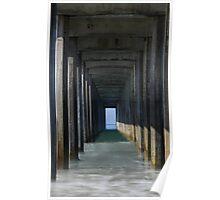 Scripps Tunnel Close Poster