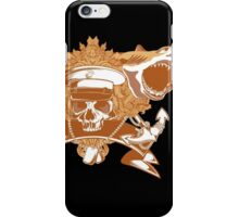 Sharks and skull iPhone Case/Skin