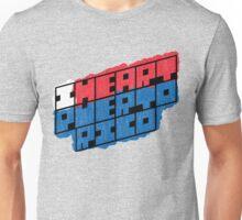 I Heart Puerto Rico Square Unisex T-Shirt