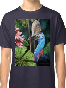 Southern Cassowary  (Hung.. Mall Gallery London) Classic T-Shirt