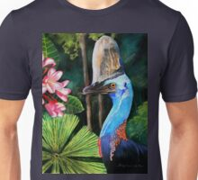 Southern Cassowary  (Hung.. Mall Gallery London) Unisex T-Shirt
