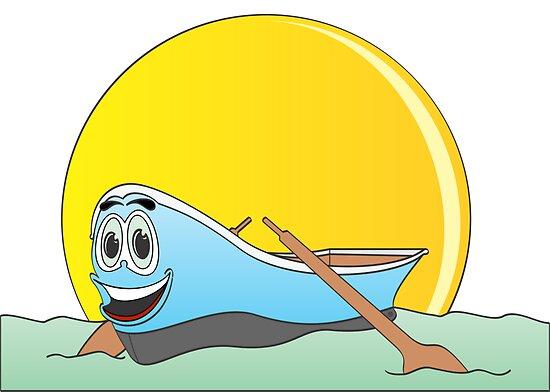 Boat Cartoon Pictures Cartoon Row Boat