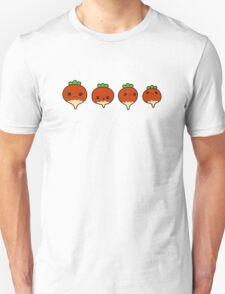 Cute radishes Unisex T-Shirt